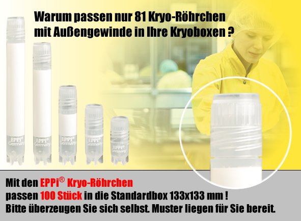 EPPi® Kryo-Röhrchen