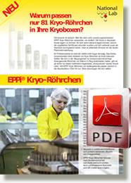 EPPi® Kryo-Röhrchen mit Außengewinde