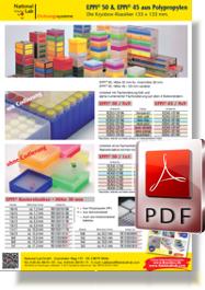 Flyer EPPi® 50 und EPPi® 45 aus  Polypropylen