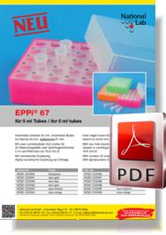 Flyer EPPi® 67 für 5 ml Tubes