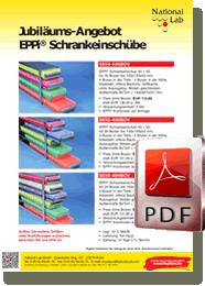 Jubiläums-Angebot EPPi® Schrankeinschübe